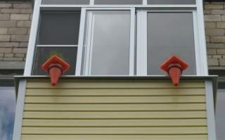 балкон хрущевке обрешетка под сайдинг своими руками