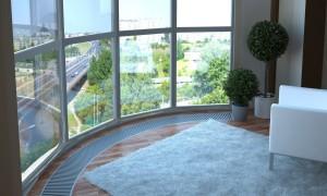балкон с витражным остеклением отделка интересные идеи