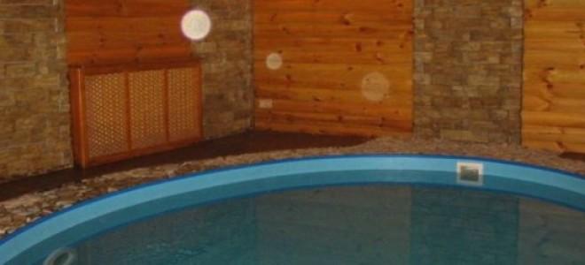 бассейн в бане как утеплять