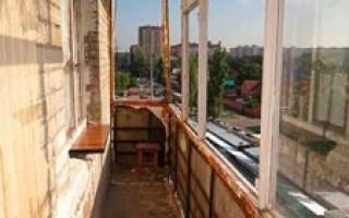балкон своими руками с чего начать