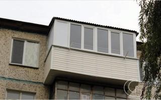балкон своими руками из профиля чертежи
