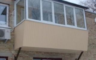 балкон своими руками построить на этаже