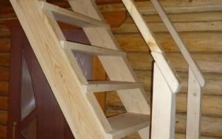 вертикальные лестницы на второй этаж на даче своими руками