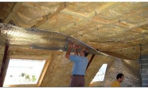 Видео крыши мансарды изнутри своими руками