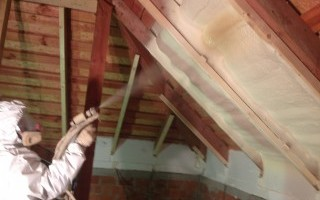 Утепление мансарды изнутри если крыша уже покрыта цена за работу