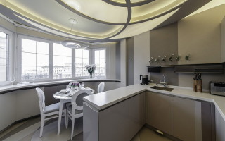 балкон совмещенный с кухней отделка балконного проема