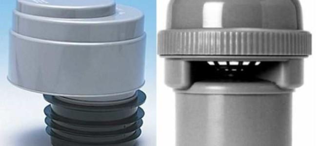 воздушный клапан для канализации куда ставить